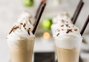 Irish Coffee Milkshake Shooters