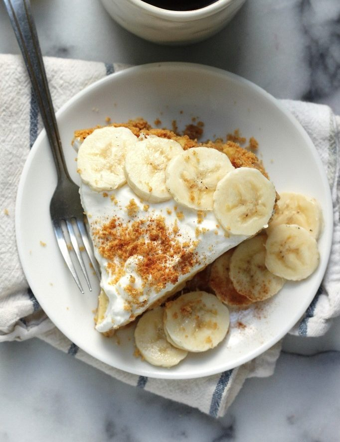 Boozy Banana Cream Pie