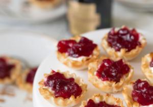 Bourbon Infused Cranberry Bites