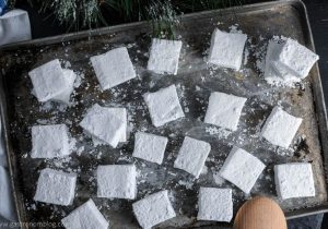 Peppermint Mocha Boozy Marshmallows