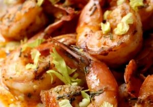 Spicy Drunken Shrimp