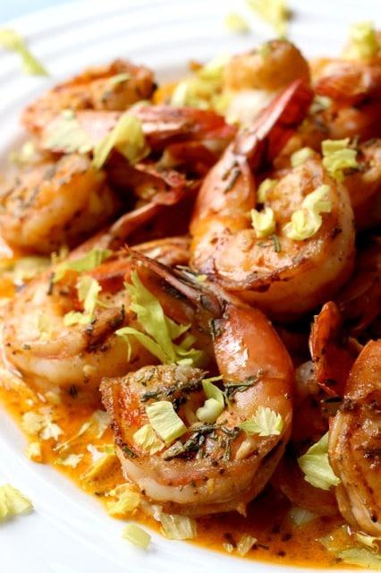 Spicy Drunken Shrimp