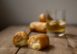 Fried Bourbon Soaked Twinkies