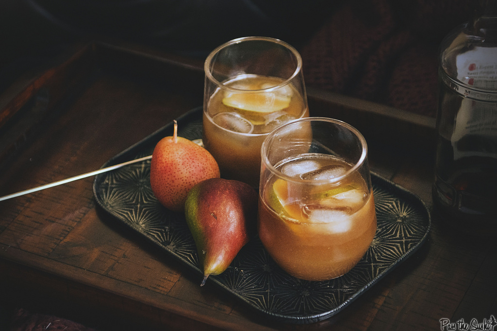 Pear and Ginger Rum Runner
