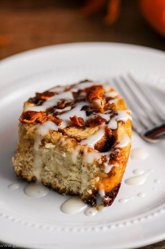 Bourbon Bacon Cinnamon Roll