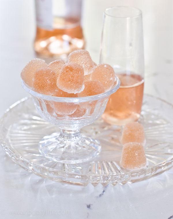 Wine Filled Gumdrops Recipe