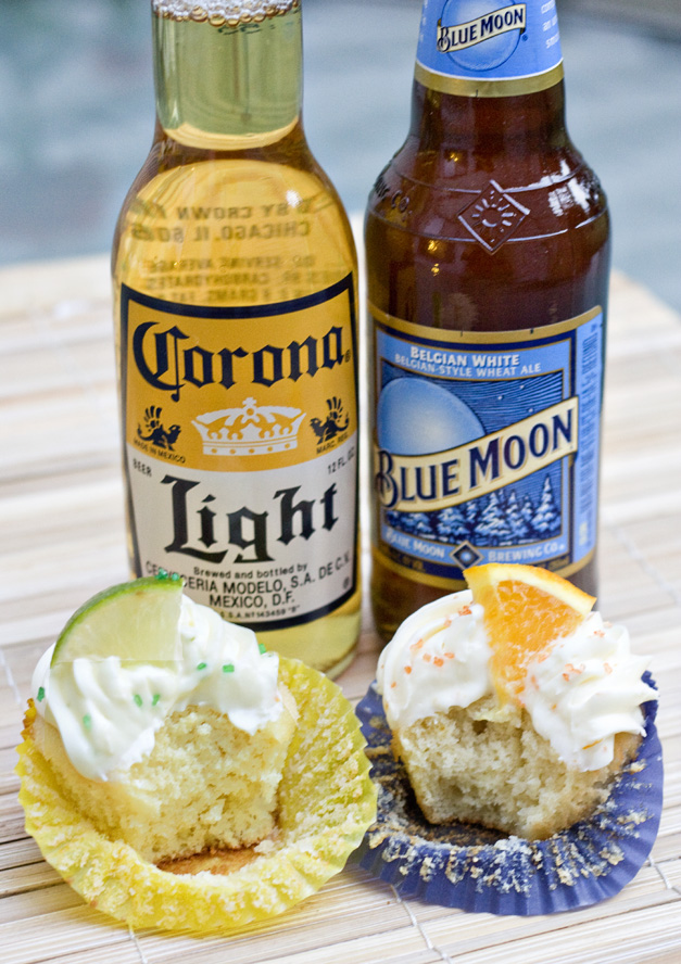 Blue Moon Cupcake Recipe - Football Party Snack