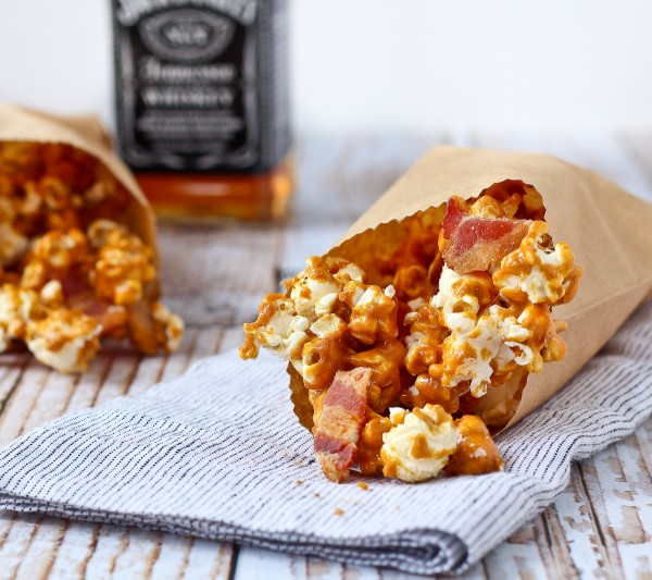 Caramel Corn with Bourbon and Bacon Recipe