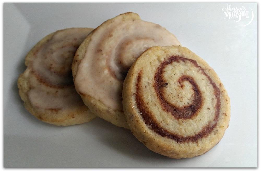Cinnabun Glazed Cookies - Vegan Recipe
