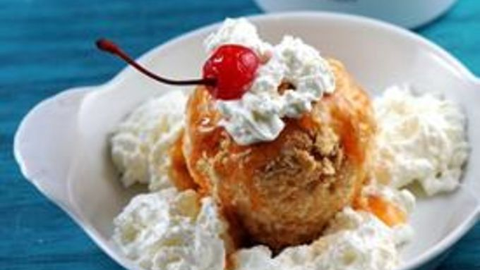 Cinnamon Toast Crunch Fried Ice Cream Recipe
