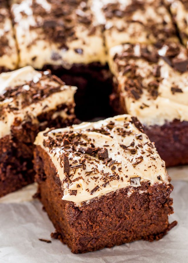Mile High Guinness Brownies