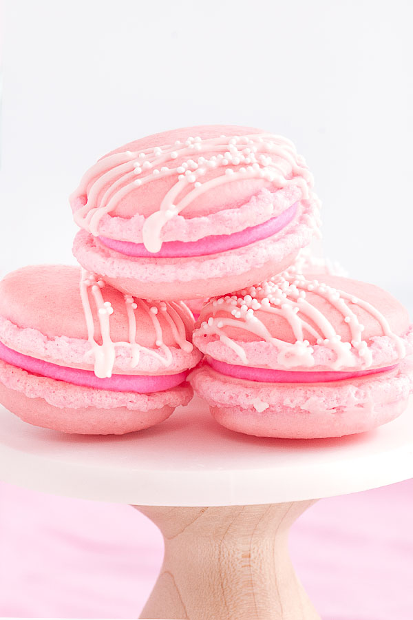 Pink Champagne Macarons Recipe