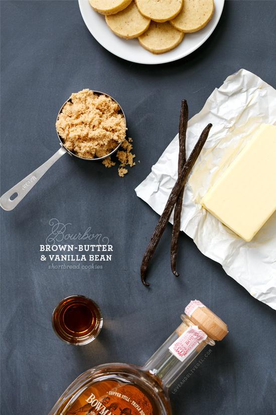 Bourbon, Brown Butter and Vanilla Bean Shortbread Recipe