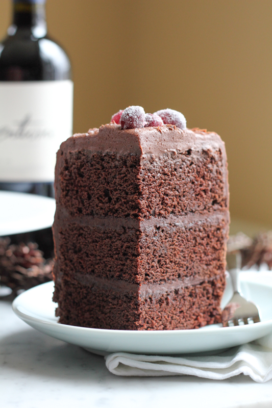Chocolate Merlot Cake Recipe