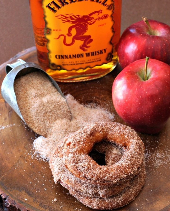Fireball Apple Fritters Recipe