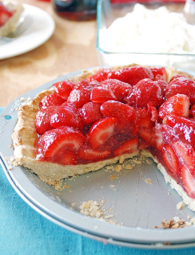 Strawberry Amaretto Pie Recipe