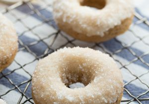 Bourbon Sugar French Toast Donuts Recipe