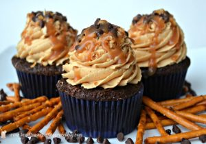Chocolate Beer and Pretzel Cupcakes Recipe