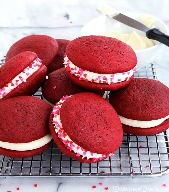 Jacked Up Red Velvet Whoopie Pies Recipe