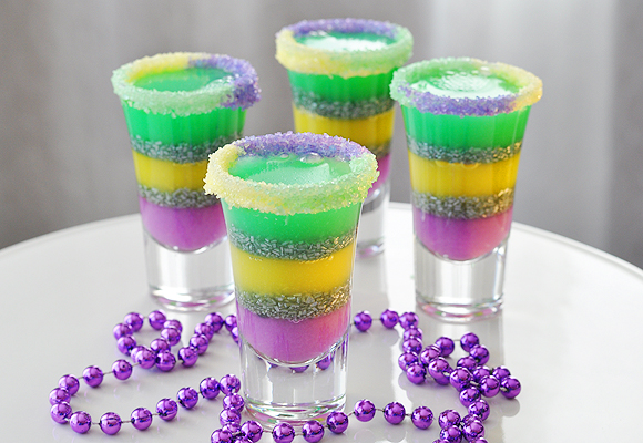 King Cake Jello Shot Recipe
