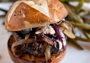 Red Wine Burgers Recipe