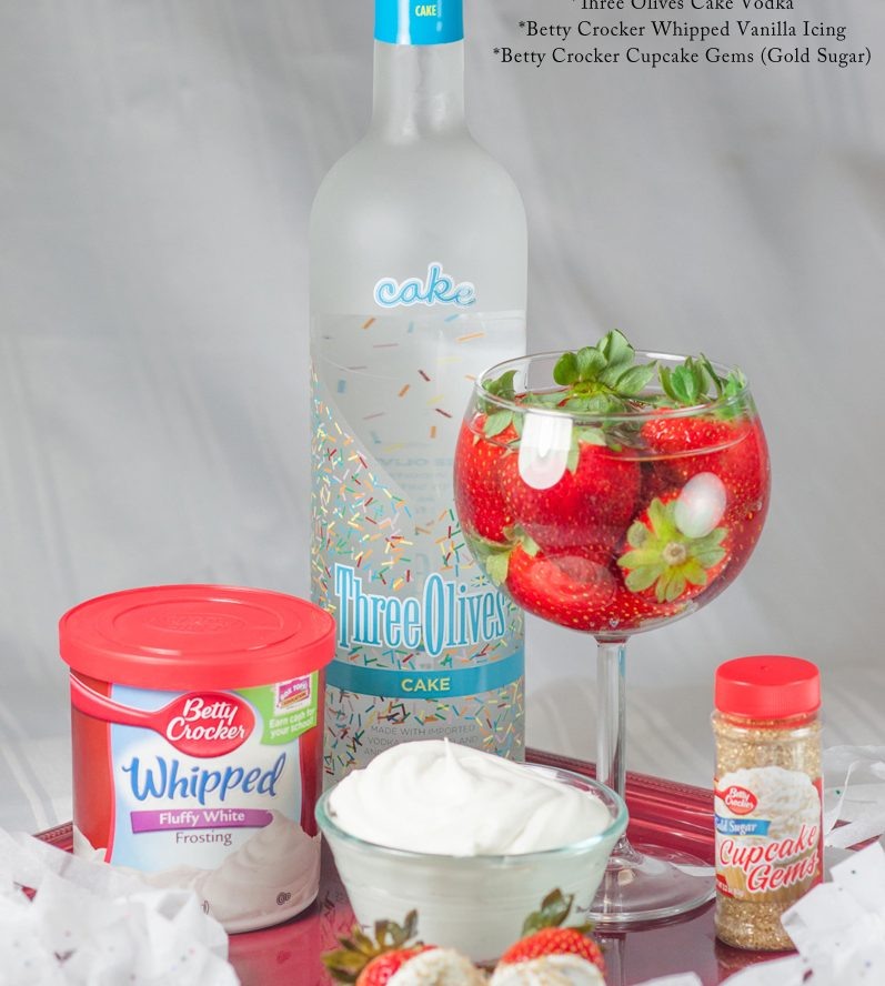 Vodka Soaked Strawberries Recipe