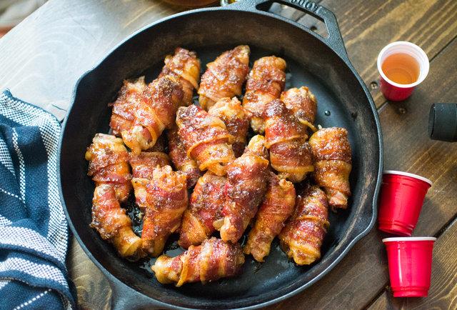 Bacon Whiskey Wings Recipe