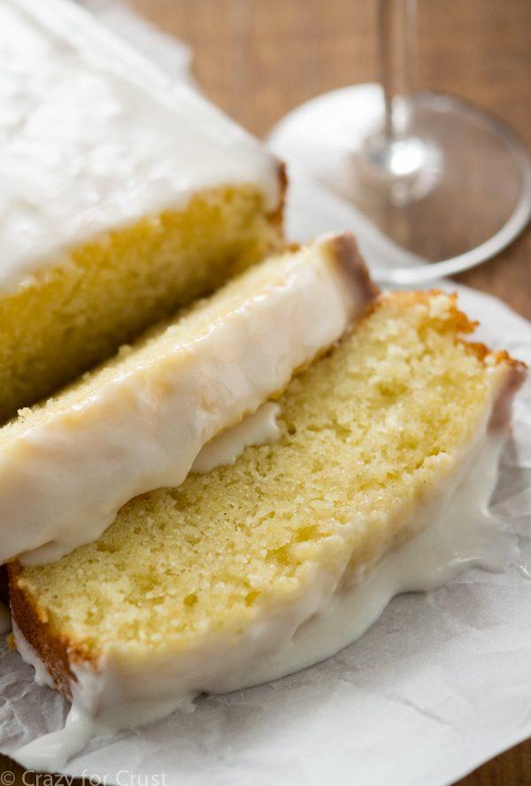 Champagne Pound Cake Recipe