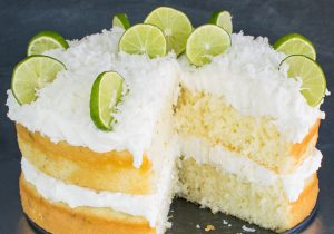 Coconut Key Lime Rum Cake Recipe