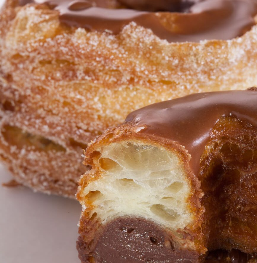 Cronut with Champagne Chocolate Ganache Recipe