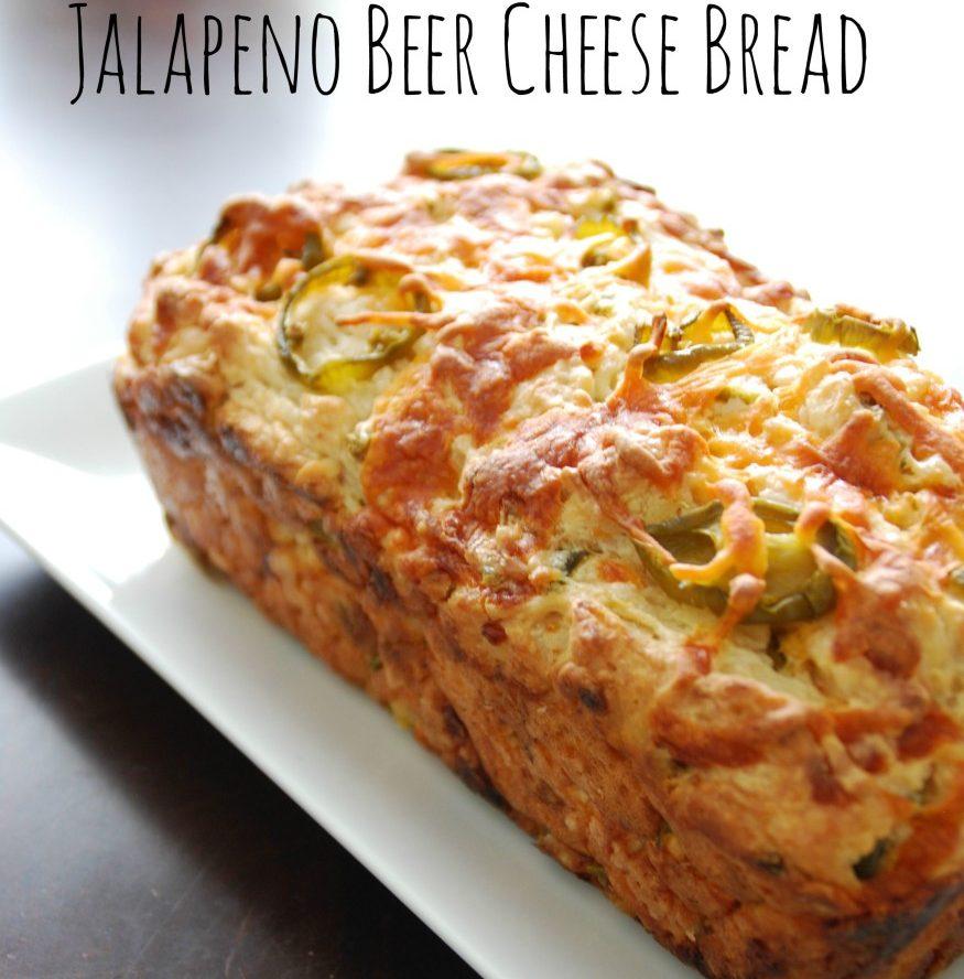 Jalapeno Cheese Beer Bread Recipe