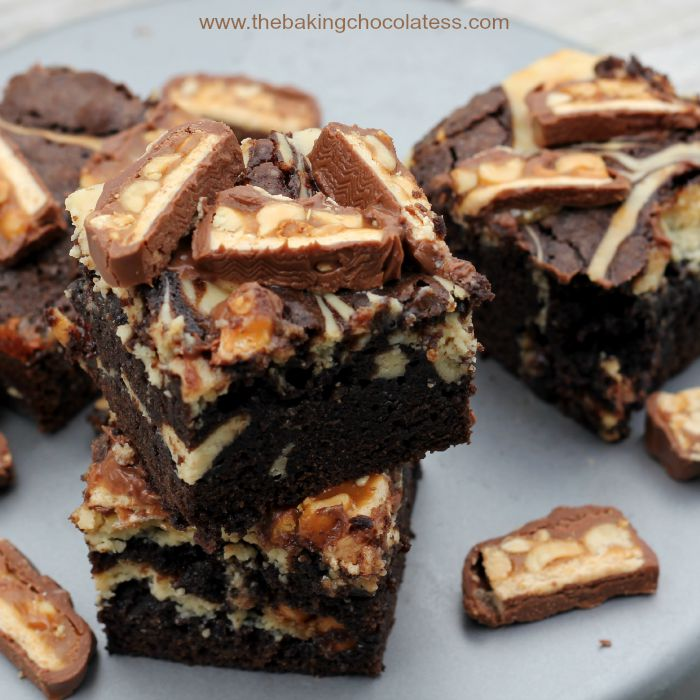 Kahlua Cheesecake Snickers Brownie Recipe