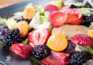 Summer Moscato Strawberry Salad Recipe