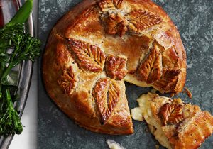 Baked Brie with Boozy Fruit Recipe