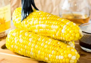 Browned Butter Maple Bourbon Corn on the Cob Recipe