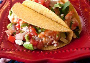 Chipotle Tequila Shrimp Tacos Recipe