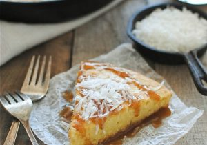Coconut Milk Cake with Kahlua Drizzle Recipe