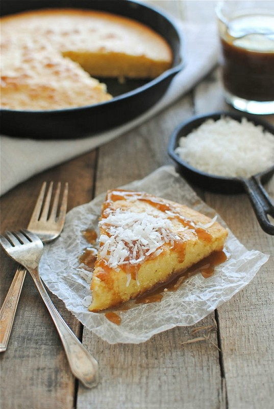 Coconut Milk Cake with Kahlua Drizzle Recipe