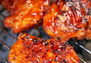 Fireball Whiskey Glazed Chicken Recipe