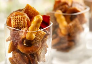 Kentucky Bourbon Bacon Chex Mix Recipe