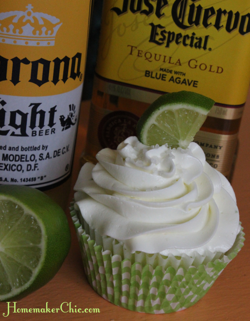 Margarita Corona Cupcakes Recipe