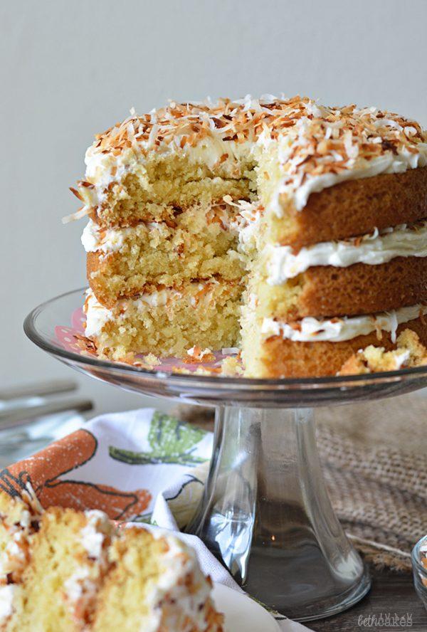 Triple Coconut Rum Cake Recipe