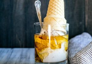 Vegan Bourbon Vanilla Bean Ice Cream Recipe
