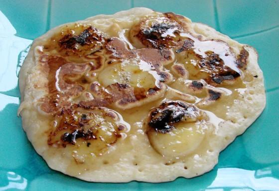 Banana Rum Pancakes Recipe