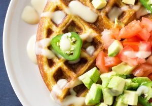 Jalapeno Beer Cheese Waffle Recipe