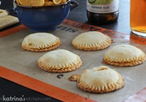 Boozy Burger and Fry Pies