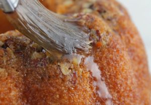 Honey Whiskey Bundt Cake