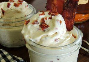 Morgan Murphy's Candied Bacon & Bourbon Frozen Custard