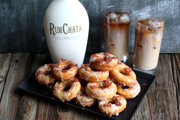 Rumchata Bacon Donuts
