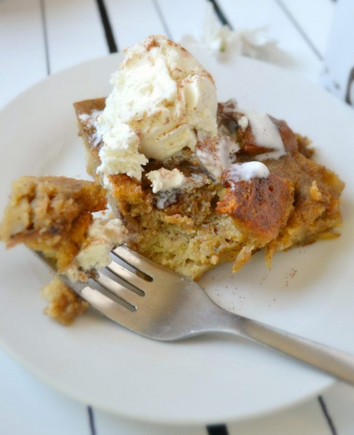 Beer Bread Pudding